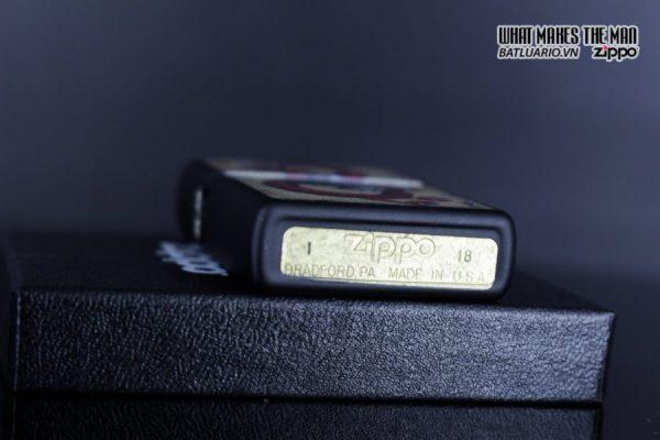 Zippo 29840 – Zippo Dragon Ace Design Black Matte 4
