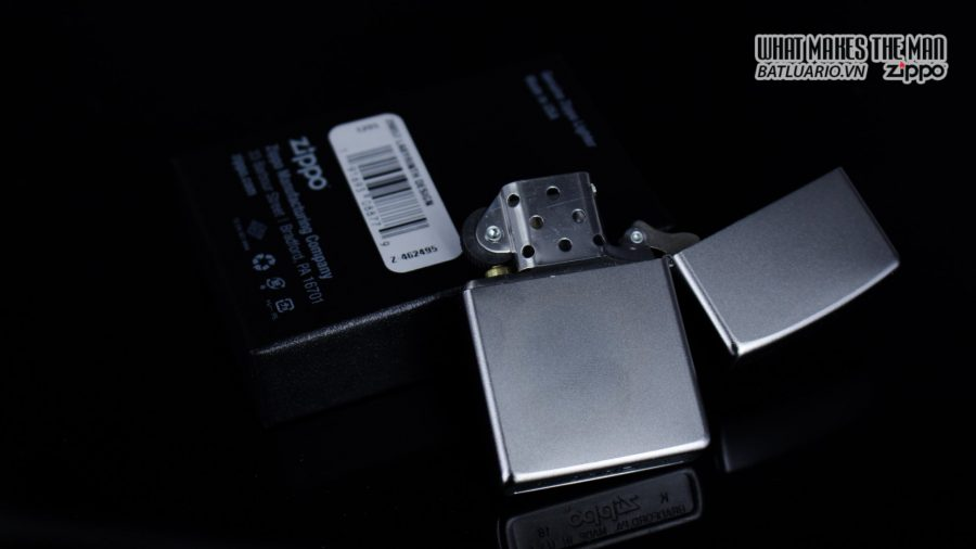Zippo 29857 – Zippo Labyrinth Design Satin Chrome 3