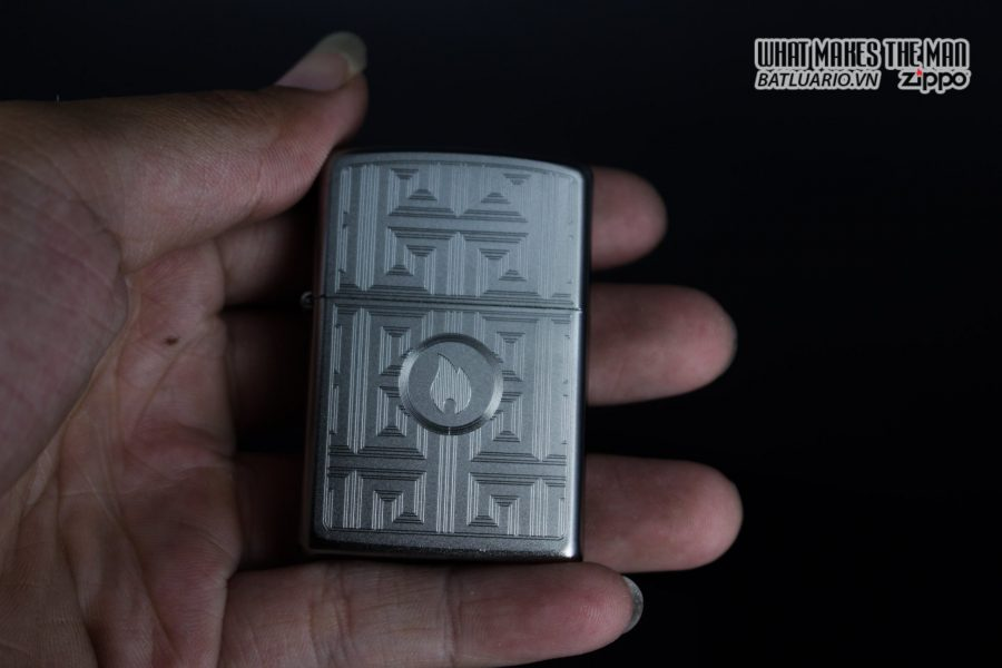 Zippo 29857 – Zippo Labyrinth Design Satin Chrome 8