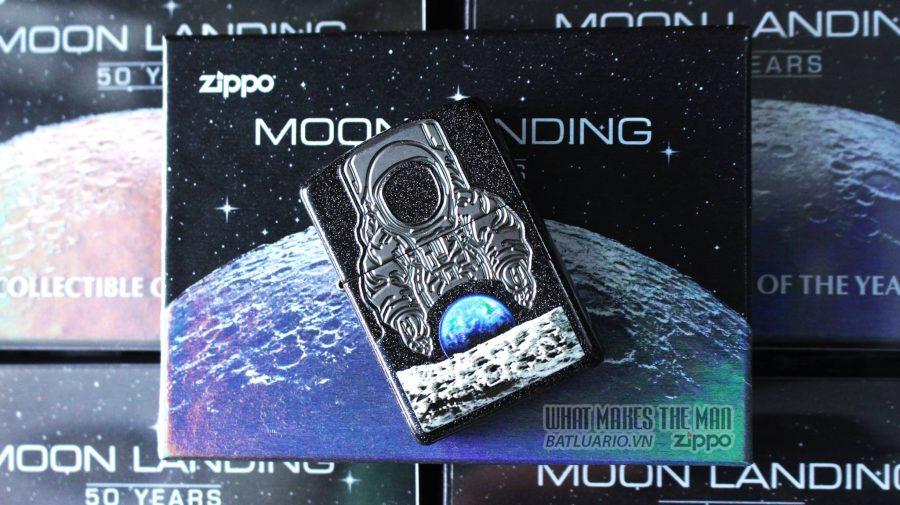 ZIPPO 2019 COLLECTIBLE OF THE YEAR – ZIPPO COTY 2019 - MOON LANDING 50 YEARS - ZIPPO 29862 27