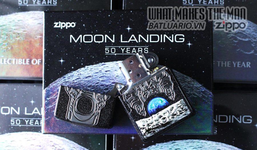 ZIPPO 2019 COLLECTIBLE OF THE YEAR – ZIPPO COTY 2019 - MOON LANDING 50 YEARS - ZIPPO 29862 30