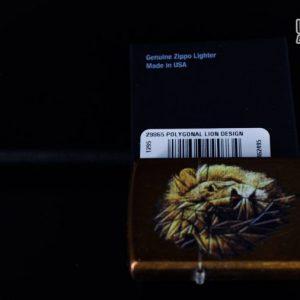 Zippo 29865 – Zippo Polygonal Lion Design Toffee 1