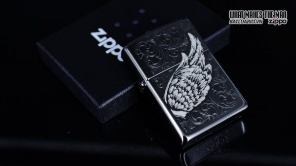 Zippo 29881 – Zippo A Gift of Wings Black Ice 1