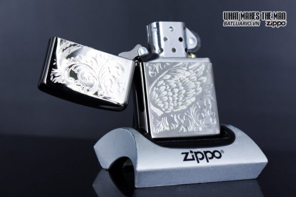 Zippo 29881 – Zippo A Gift of Wings Black Ice 10