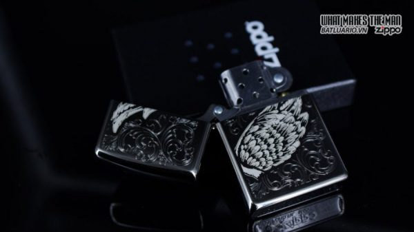 Zippo 29881 – Zippo A Gift of Wings Black Ice 11
