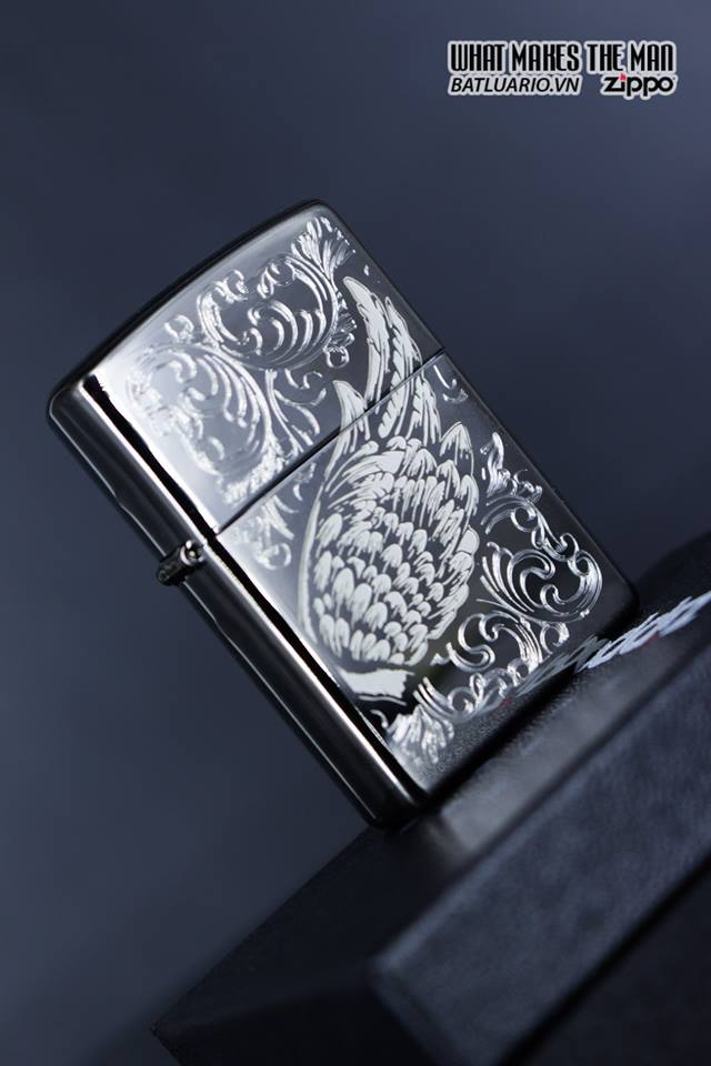 Zippo 29881 – Zippo A Gift of Wings Black Ice 12