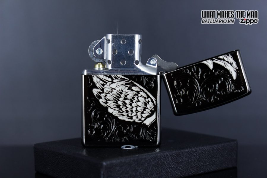 Zippo 29881 – Zippo A Gift of Wings Black Ice 4