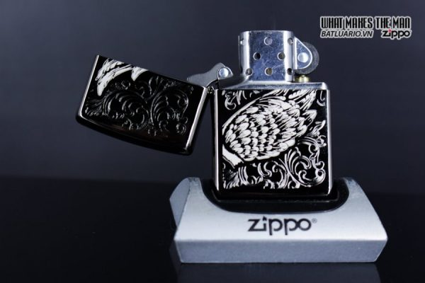 Zippo 29881 – Zippo A Gift of Wings Black Ice 7