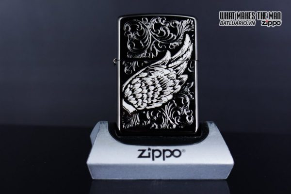 Zippo 29881 – Zippo A Gift of Wings Black Ice 8