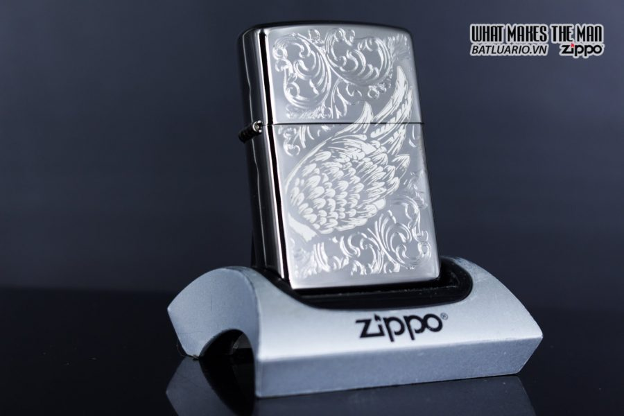Zippo 29881 – Zippo A Gift of Wings Black Ice 9