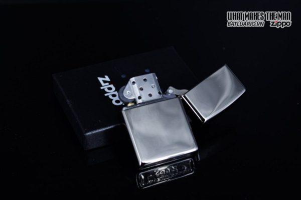 Zippo 29883 – Zippo Fancy Skull Design Black Ice 3