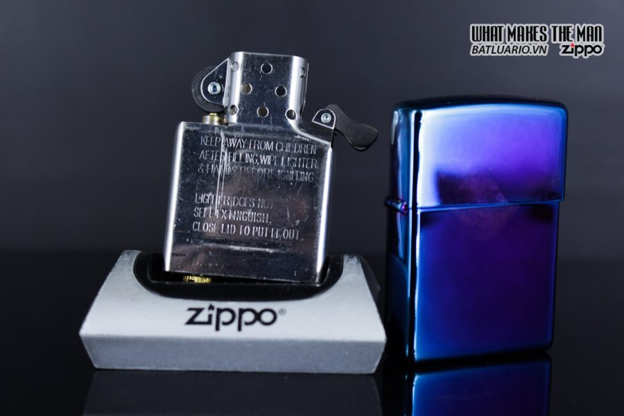 Zippo 29899 – Zippo Regular High Polished Indigo 10