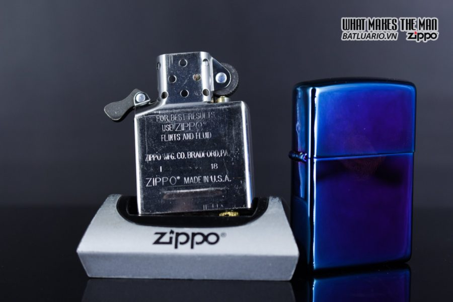 Zippo 29899 – Zippo Regular High Polished Indigo 9