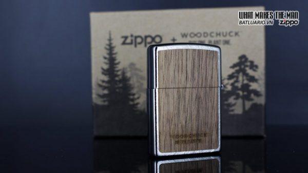 Zippo 29902 – Zippo Woodchuck Paths Heringbone Sweep Walnut Emblem 11