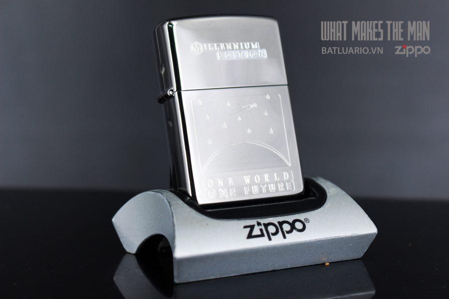 ZIPPO COTY 1999 – ONE WORLD – ONE FUTURE 4