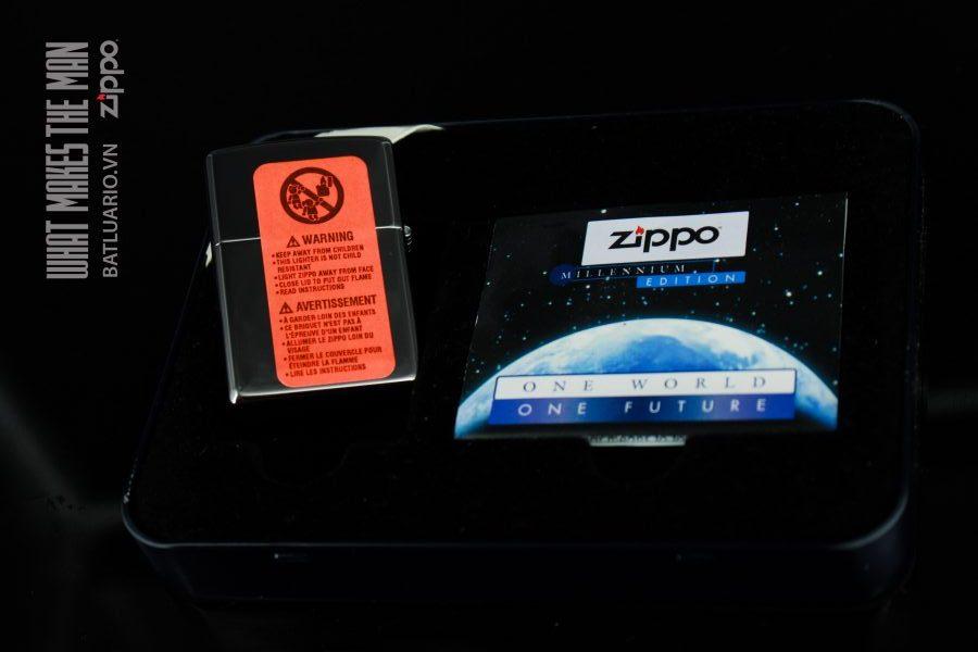 ZIPPO COTY 1999 – ONE WORLD – ONE FUTURE 5