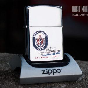 ZIPPO LA MÃ 1991 – USS NICOLAS FFG 47
