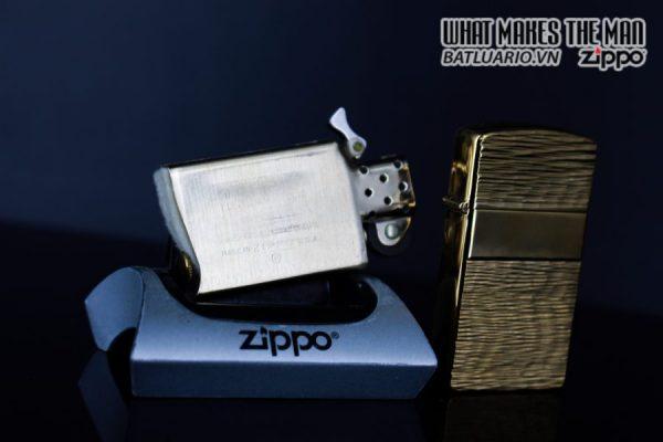ZIPPO SLIM XƯA 1979 – GOLD PLATE GOLDEN ELEGANCE – MẠ VÀNG 22K 2