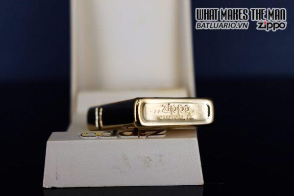 ZIPPO SLIM XƯA 1979 – GOLD PLATE GOLDEN ELEGANCE – MẠ VÀNG 22K 3