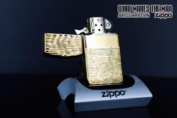 ZIPPO SLIM XƯA 1979 – GOLD PLATE GOLDEN ELEGANCE – MẠ VÀNG 22K 5