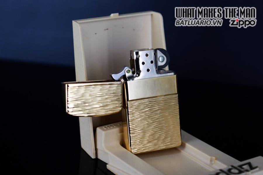 ZIPPO SLIM XƯA 1979 – GOLD PLATE GOLDEN ELEGANCE – MẠ VÀNG 22K 7