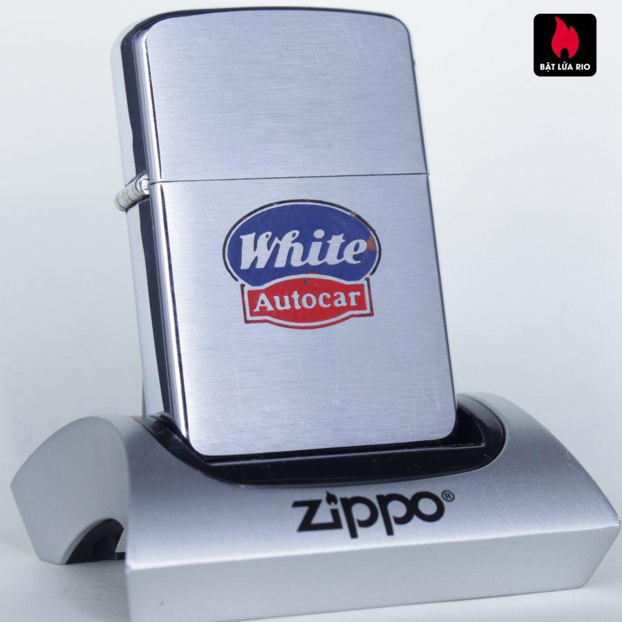 ZIPPO XƯA 1957 – WHITE AUTOCAR