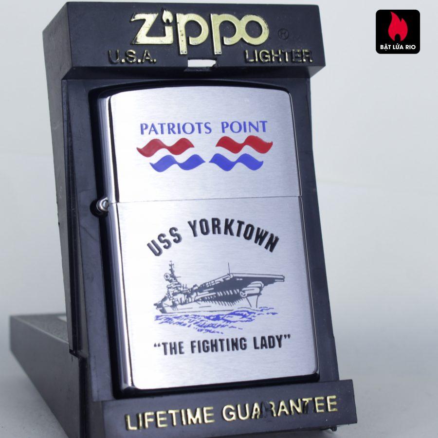 ZIPPO LA MÃ 1997 - USS YORKTOWN CV 10