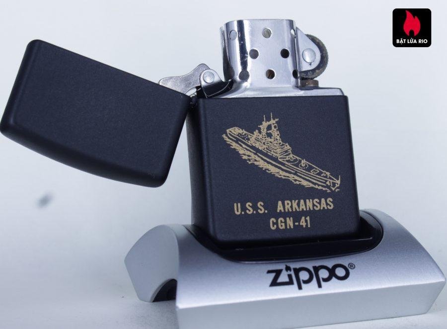 ZIPPO LA MÃ 1992 - USS ARKANSAS CGN 41