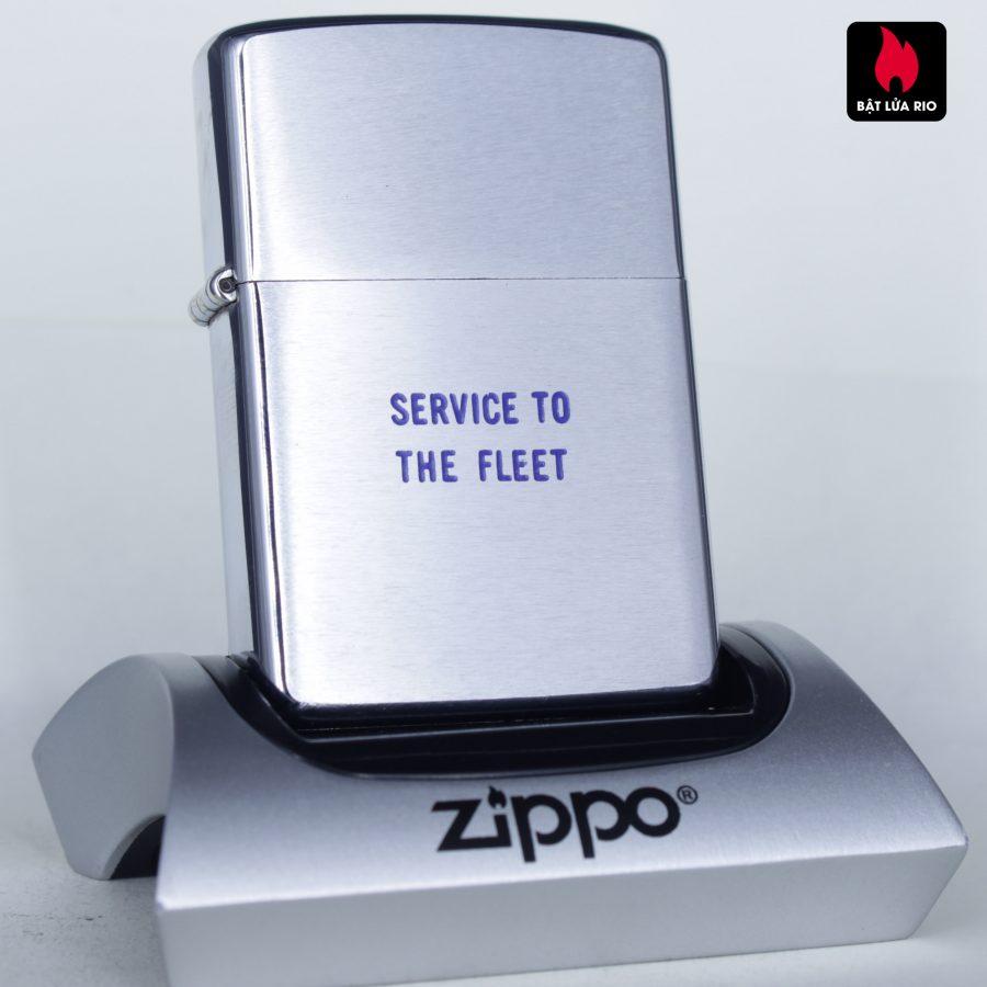 ZIPPO XƯA 1974 - SERVICE TO THE FLEET - NSD YOKOSUKA