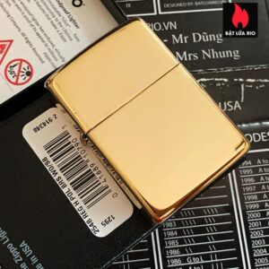 Zippo 254B - Zippo High Polished Brass 10