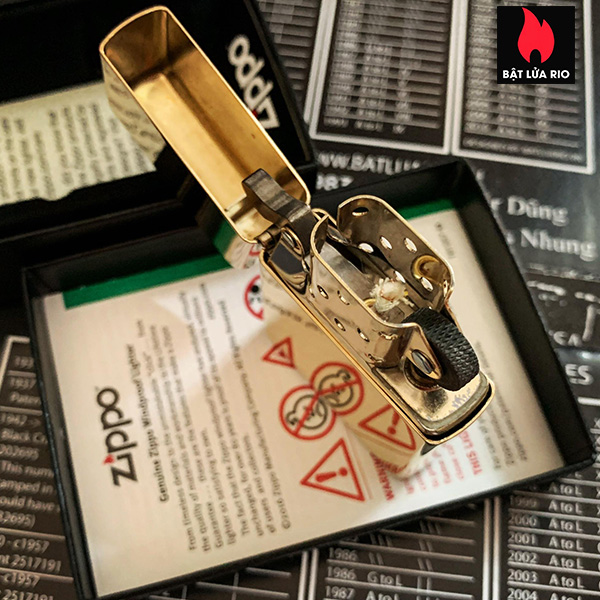 Zippo 254B - Zippo High Polished Brass 15