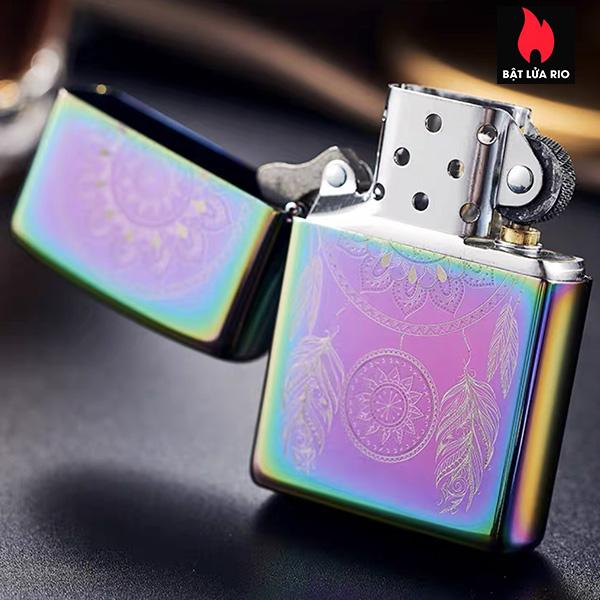 Zippo 49023 - Zippo Engraved Dreamcatcher Multi Color 13