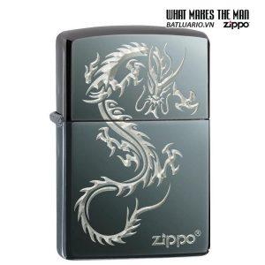Zippo 49030 - Zippo Chinese Dragon Black Ice