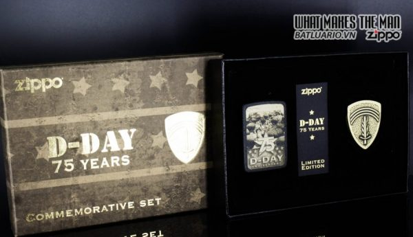 ZIPPO 29930 - ZIPPO D-DAY 75TH ANNIVERSARY COMMEMORATIVE GIFT SET 12