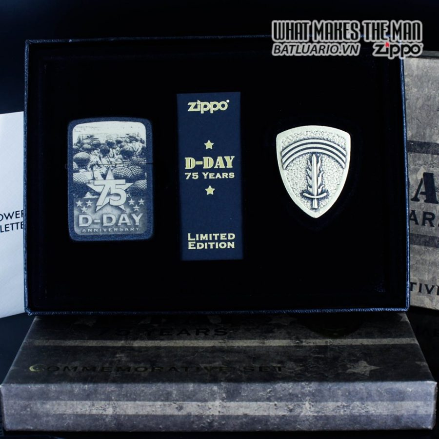 ZIPPO 29930 - ZIPPO D-DAY 75TH ANNIVERSARY COMMEMORATIVE GIFT SET 2
