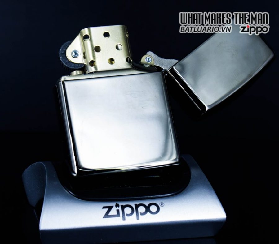 Zippo 49021 – Zippo Armor Hexagon Design Black Ice 11