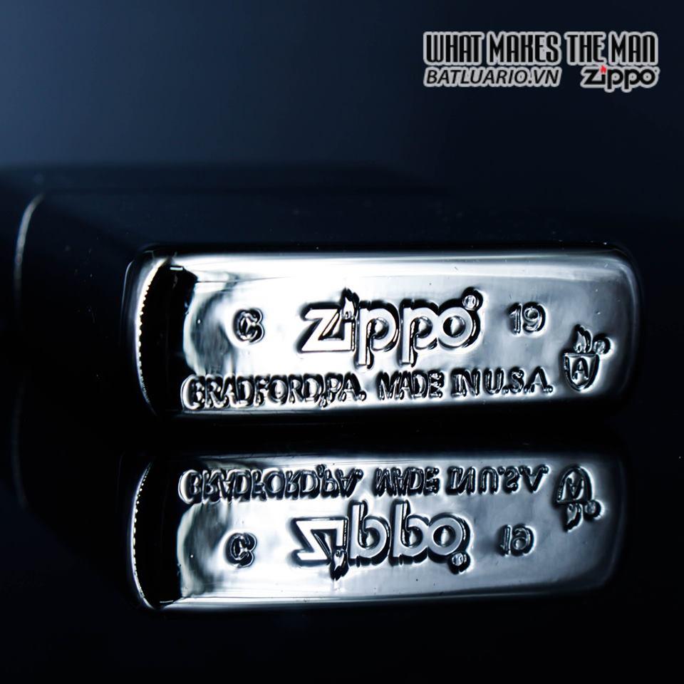 Zippo 49021 – Zippo Armor Hexagon Design Black Ice 3
