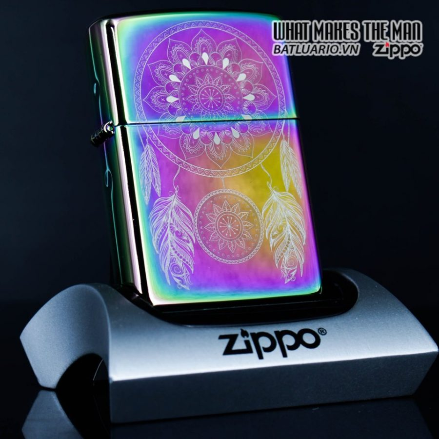 Zippo 49023 - Zippo Engraved Dreamcatcher Multi Color 1