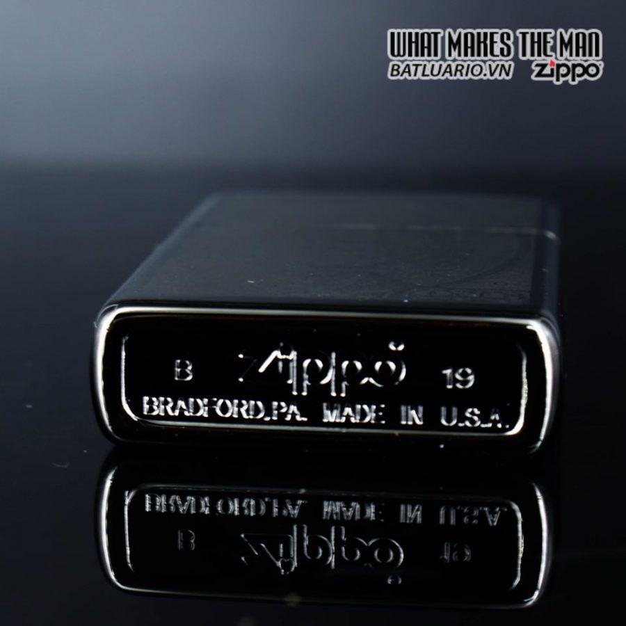 Zippo 49025 - Zippo Hundred Dollar Bill Black Ice 3