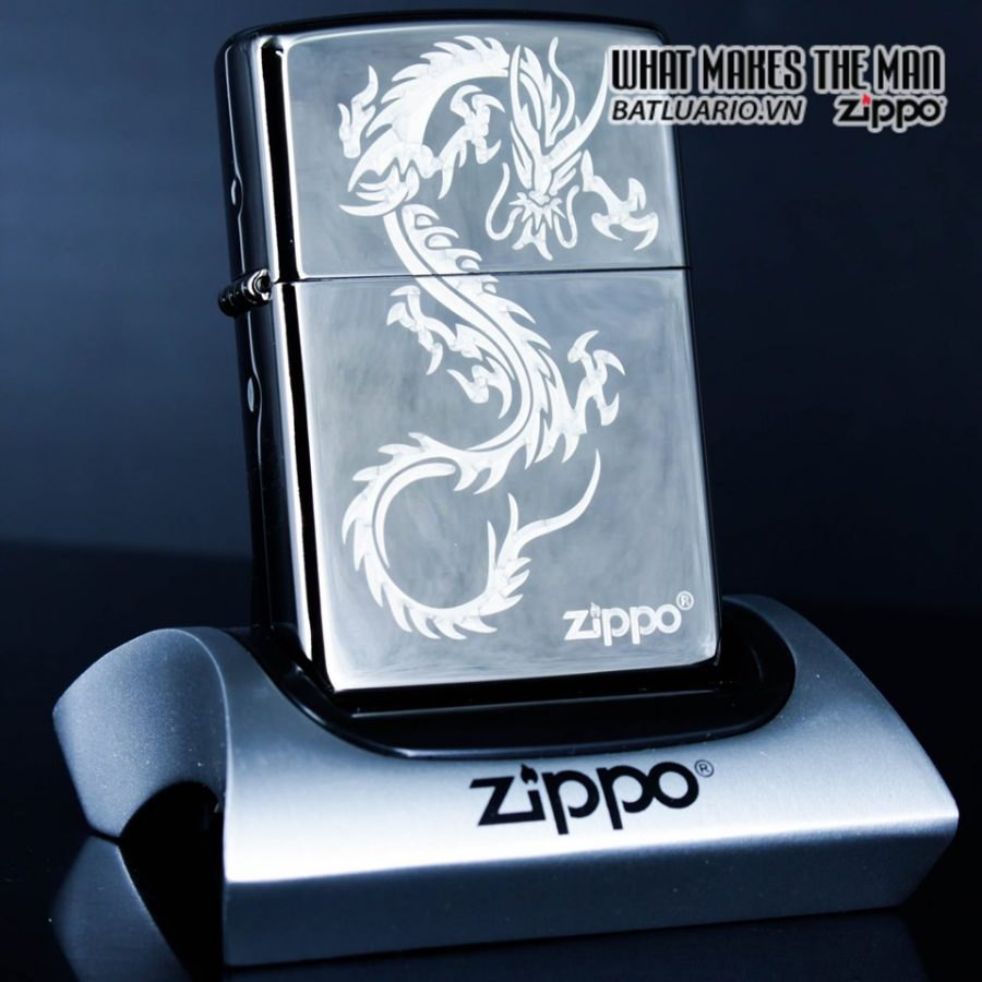 Zippo 49030 - Zippo Chinese Dragon Black Ice 1