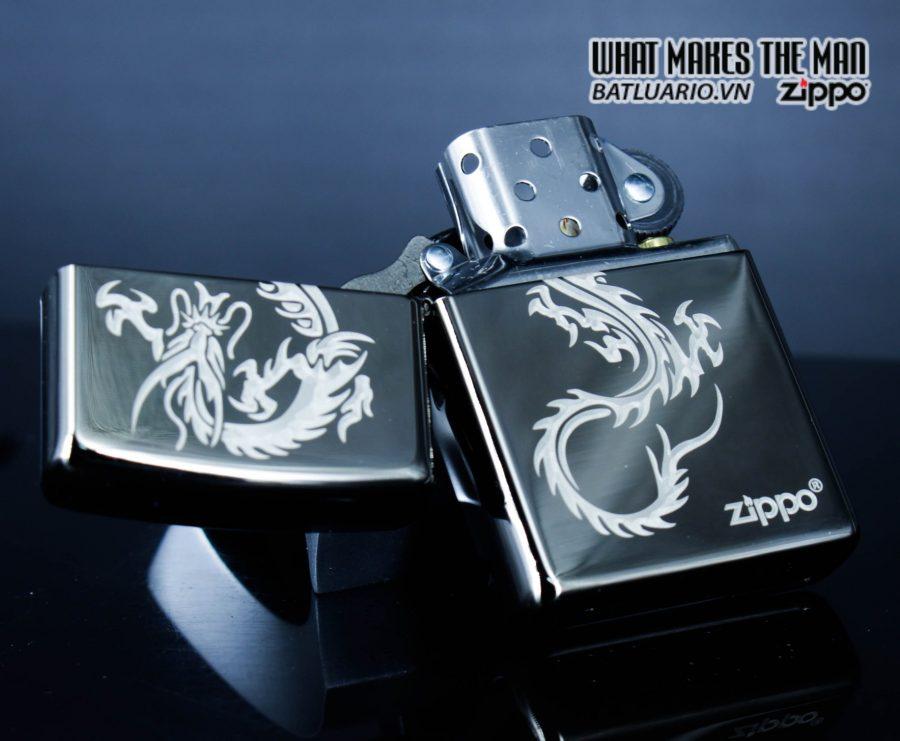 Zippo 49030 - Zippo Chinese Dragon Black Ice 5