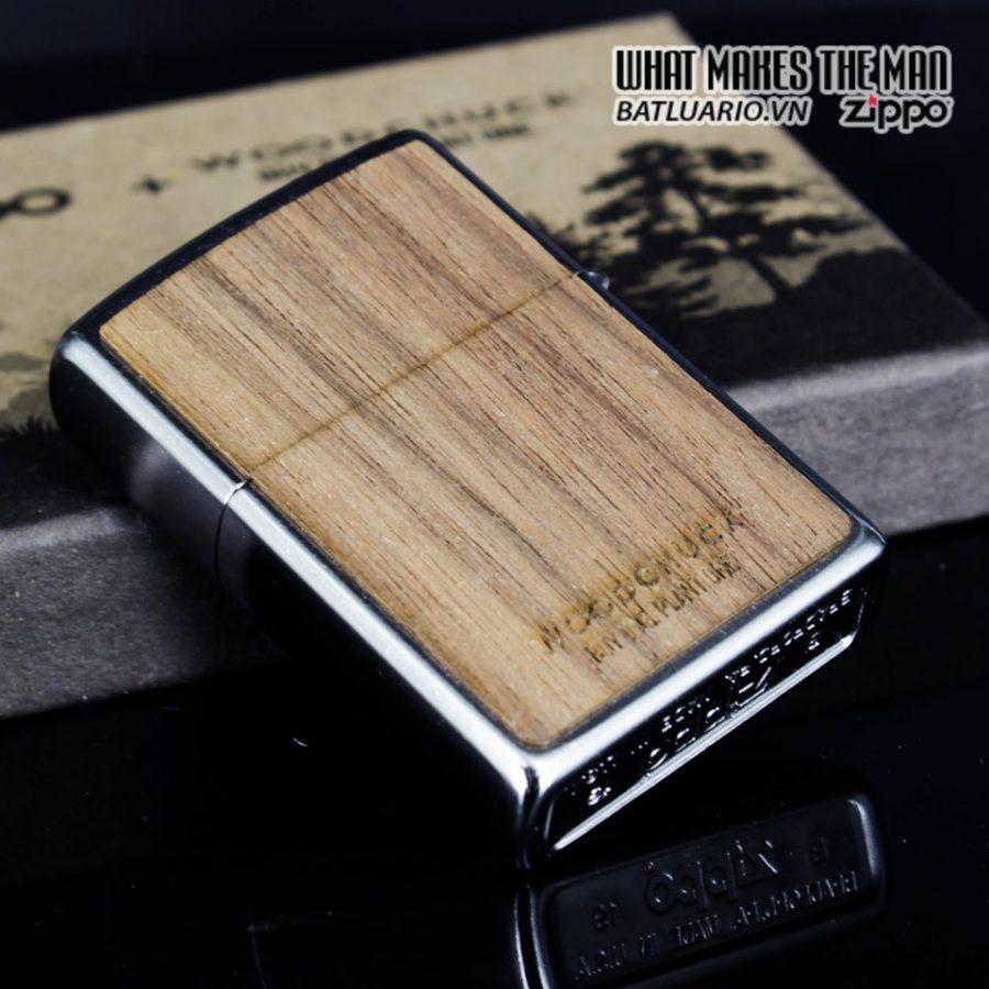 Zippo 49056 - Zippo Woodchuck Clover Street Chrome 7