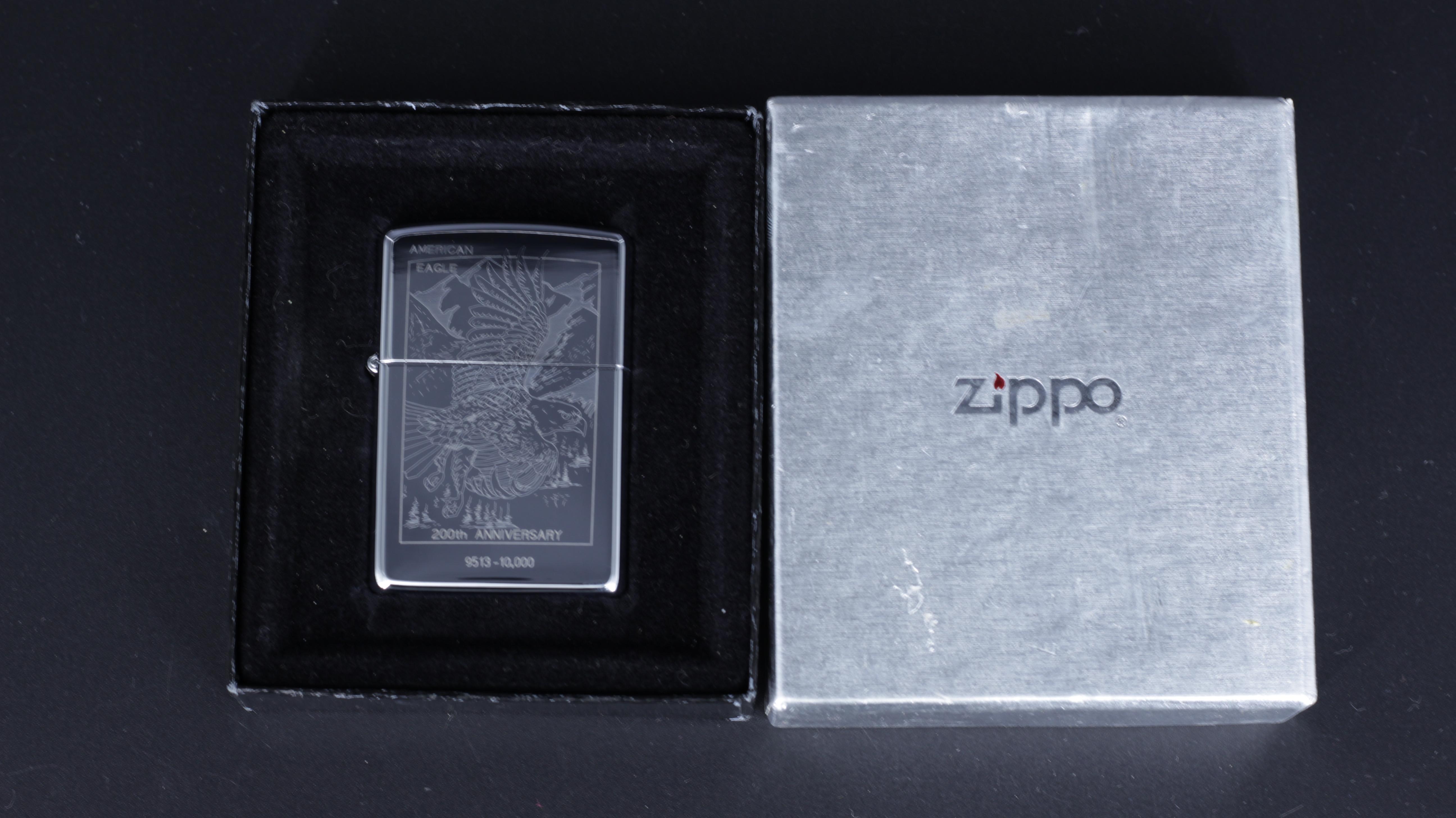 ZIPPO LA MÃ 1993 – 200TH ANNIVERSARY AMERICAN EAGLE