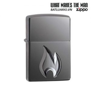 Zippo 29928 - Zippo Armor® Flame Design Black Ice