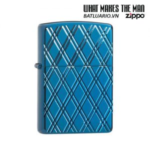 Zippo 29964 - Zippo Armor® High Polish Blue Diamonds