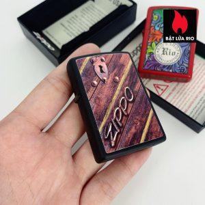 Zippo 29986 - Zippo Lock Design Black Matte 1