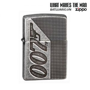 Zippo 49033 - Zippo Armor® James Bond 007™ Antique Silver Plate