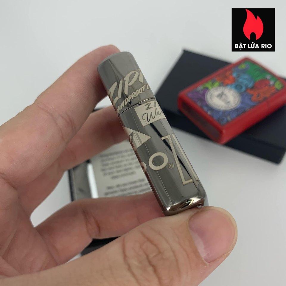 Zippo 49051 - Zippo Logo Design Black Ice® 360° Laser 9