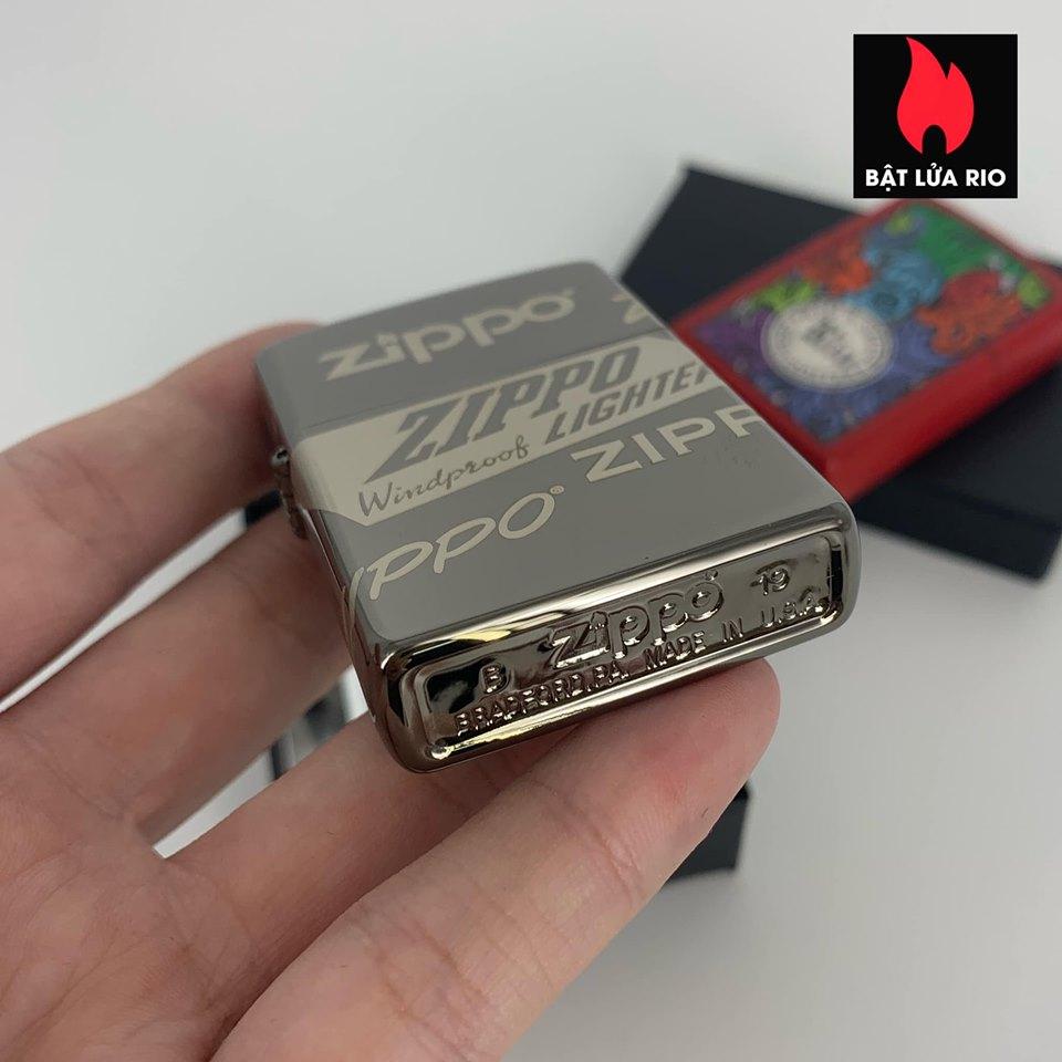 Zippo 49051 - Zippo Logo Design Black Ice® 360° Laser 8