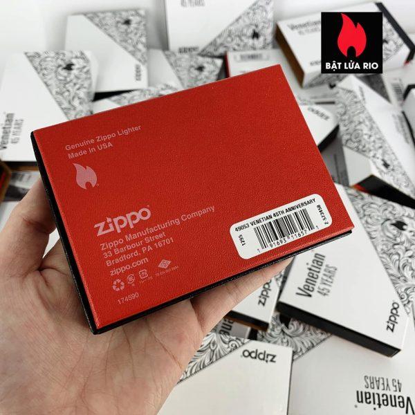Zippo 49053 - Zippo Venetian 45th Anniversary 13